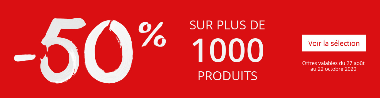 Rentrée - 1000 produits