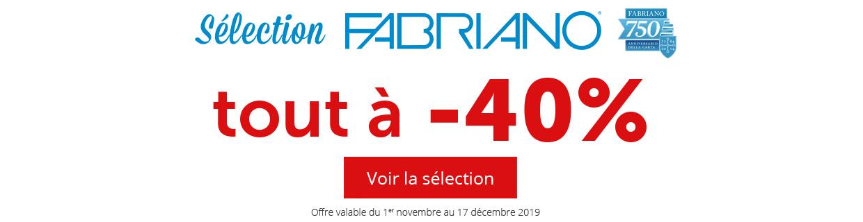 Fabriano -40% - MAG 40
