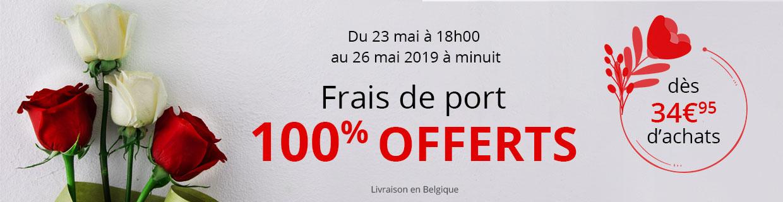 Frais de port offerts dès 34,95€