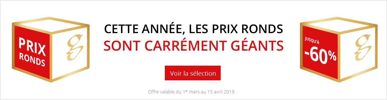 Prix ronds 2019