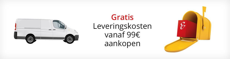 Gratis Leveringskosten VANAF 99€