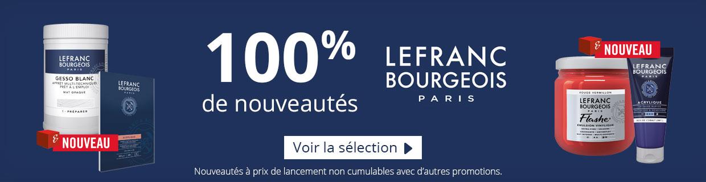 100% de nouveautés Lefranc Bourgeois